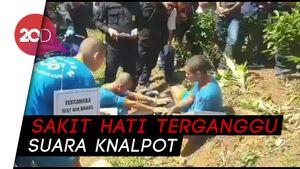 Terkuak! Pria Bertato Bandel Dibunuh Gara-gara Knalpot Bising