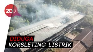 Pabrik Teh di Sukabumi yang Terbakar Bangunan Sejarah