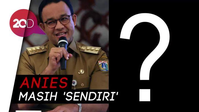 Sapa Anies di Rapat HUT Jakarta, Mendagri: Wakilnya Belum Ada?