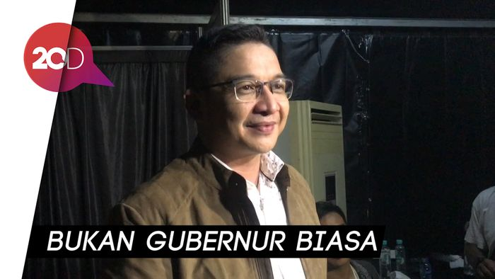 Isi Acara HUT DKI Jakarta, Pasha Puji Anies Baswedan