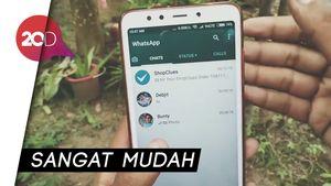 Kirim Foto Kualitas Tinggi Lewat WhatsApp? Bisa Banget!