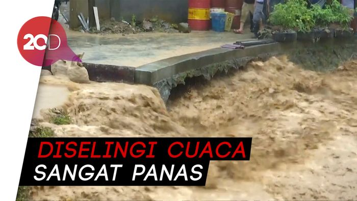 Curah Hujan Ekstrem Melanda China
