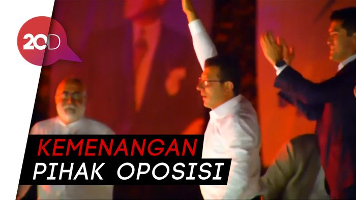 Kandidat Erdogan Kalah di Pilkada Istanbul