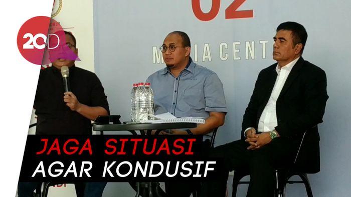 Kubu Prabowo Minta Pendukung Tak Turun ke Jalan saat Putusan MK