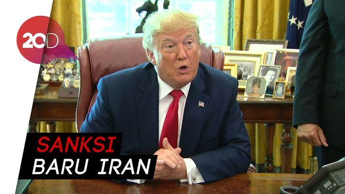 Trump Jatuhi Sanksi ke Ayatollah Ali Khamenei