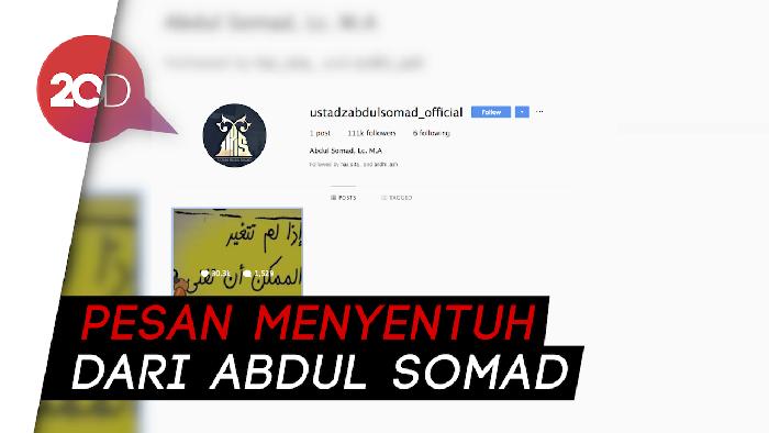 Instagram Mati Suri Usai Diretas, Ustaz Abdul Somad Bikin Akun Baru