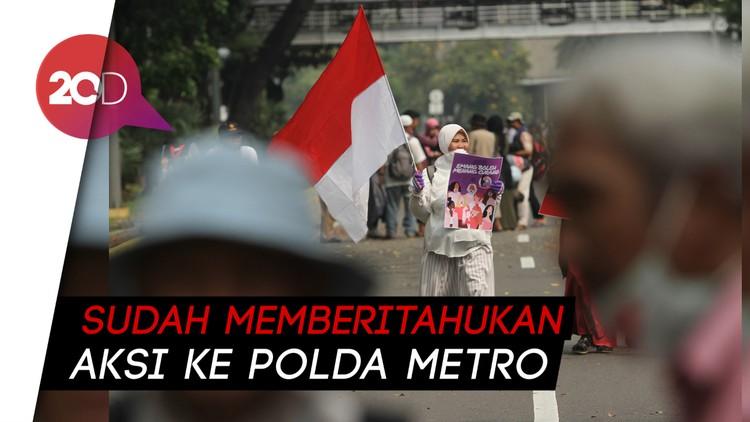 Massa Aksi Kawal MK Bubar, Besok Kembali Lagi