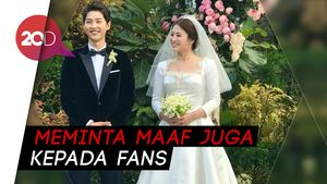 Breaking! Song Jong Ki Gugat Cerai Song Hye Kyo