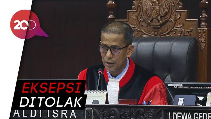 MK Tolak Eksepsi KPU-Tim Jokowi yang Protes Berkas Baru Prabowo