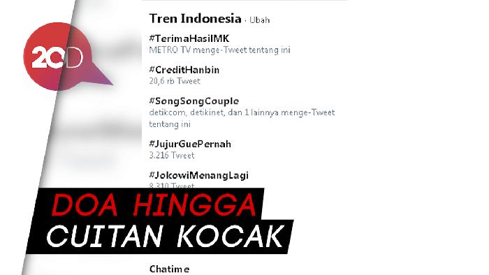 #TerimaHasilMK Menggema di Twitter