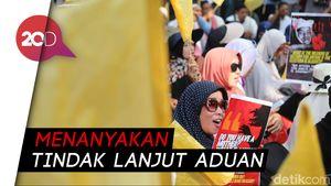 Ke Komnas HAM Bawa Bendera Kuning, Massa Minta Usut Kasus 22 Mei