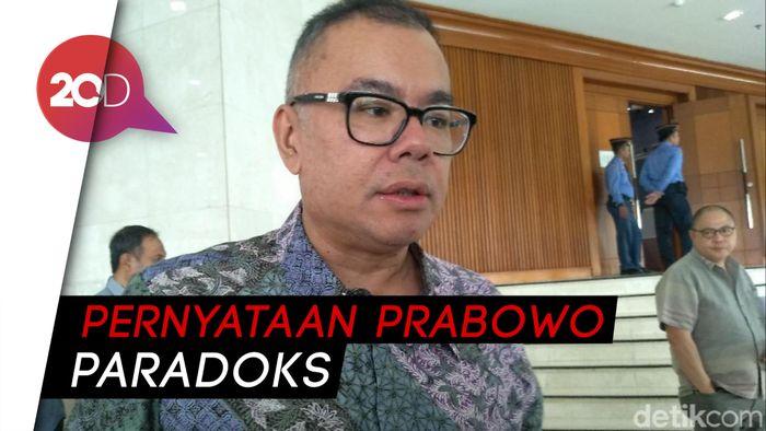 PAN: Kalau Prabowo Konsisten, Harusnya Tak Coba Cari Jalan Lain