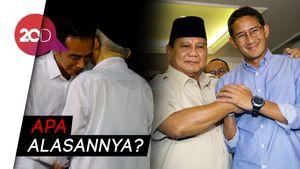 Prabowo-Sandiaga Tak akan Hadiri Penetapan Kemenangan Jokowi-Maruf