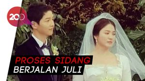 Tanpa Sepengetahuan Song Hye Kyo, Song Joong Ki Ajukan Gugat Cerai