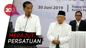 Jokowi Ajak Prabowo-Sandi Bersama Bangun Negara