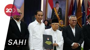 KPU Tetapkan Jokowi-Maruf Presiden dan Wapres Terpilih