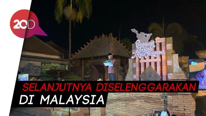 Penampilan Gus Mus-Sutardji Meriahkan Pertemuan Penyair Nusantara di Kudus