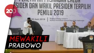 Video Timses Prabowo Salami Jokowi Terima Keputusan KPU