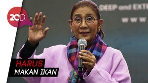 Menteri Susi Luncurkan Program Aisu Maki di Surabaya