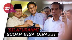 Sandi soal Pertemuan dengan Jokowi: Prabowo akan Atur Segera