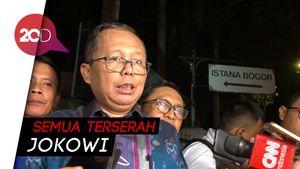 Menteri-menteri Jokowi Bisa Berasal dari TKN-TKD