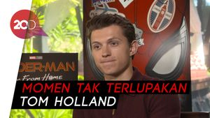 Eksklusif! Cerita Tom Holland di Balik Film Spider-Man: Far From Home