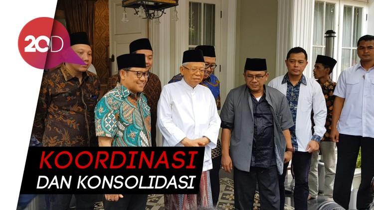 Cak Imin Bertamu ke  Maruf Amin, Bahas Soal Menteri