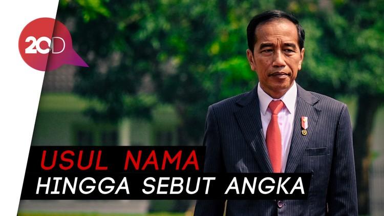 Suara-suara Partai soal Calon Menteri Pilihan Jokowi