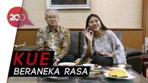 Saat Kue-kue Indonesia Goyang Lidah Dubes Jepang