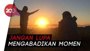Menikmati Sunrise Bukit Alebo, Miniatur Bromo di Sulawesi