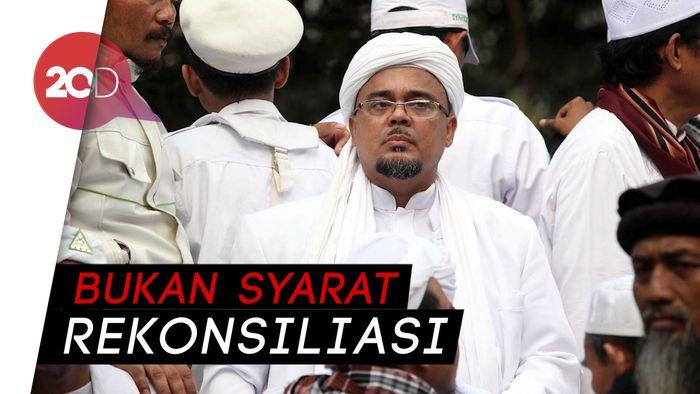Minta Pulangkan Habib Rizieq, Gerindra: Bukan Keputusan Partai