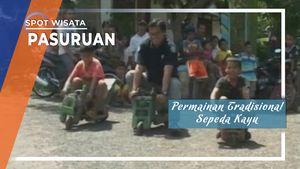 Gledekan, Sepeda Kayu Tradisional Asal Desa Punjul Lereng Gunung Bromo