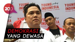 Erick Thohir Sambut Positif Pertemuan Jokowi-Prabowo
