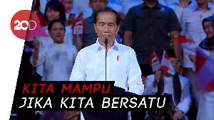 Jokowi: Ini Bukan Tentang Aku dan Kamu, tapi Ini Tentang Bangsa