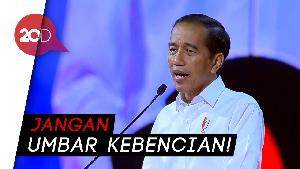 Jokowi: Jadi Oposisi Itu Mulia, Asal Jangan Dendam!