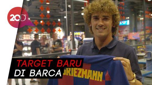 Tekad Griezmann Sapu Bersih Gelar Bersama Barcelona
