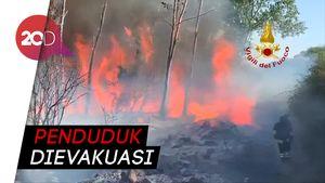 Kebakaran Hutan di Italia