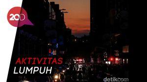 Penampakan Kota New York yang Mendadak Gelap Gulita