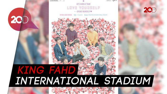 Wiw! BTS akan Gelar Konser di Arab Saudi