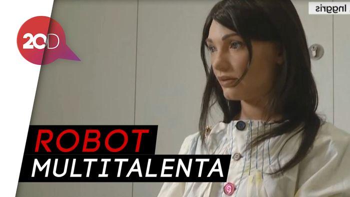 AI-DA, Si Robot Multitalenta Ciptaan Universitas Oxford
