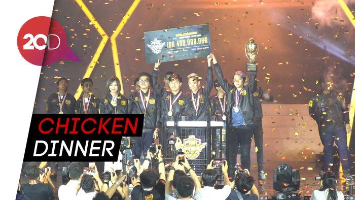 Kemeriahan Kompetisi PUBG Mobile di Jakarta
