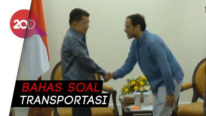 JK Tepis Pertemuan dengan Bos Gojek Bahas Menteri