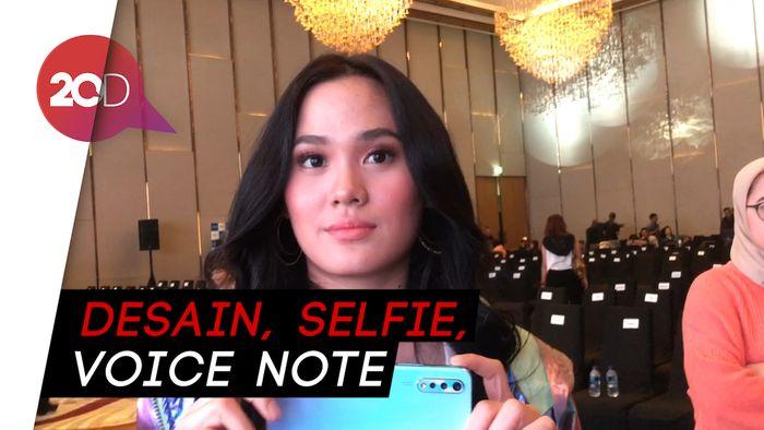 Sheryl Sheinafia Pilih Ponsel Jago Selfie Buat Olahraga dan Bermusik