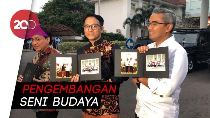 Undang Seniman ke Istana, Jokowi Bahas Dana Abadi