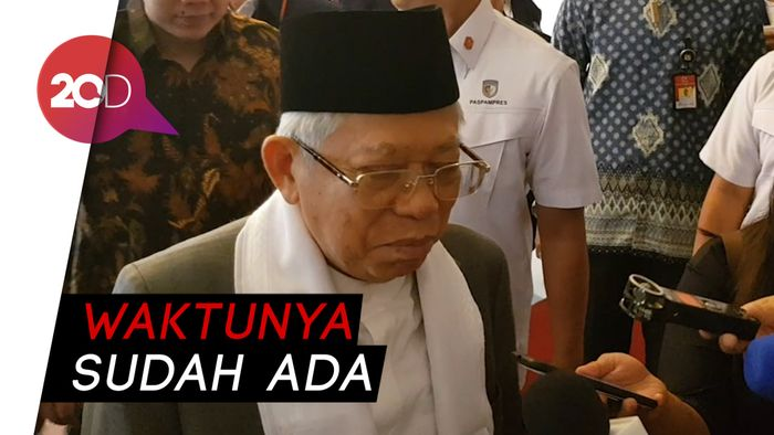 Bocoran Maruf Amin Soal Susunan Kabinet