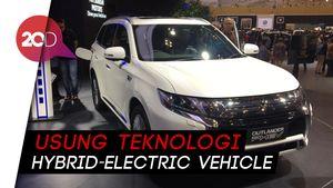 Outlander PHEV, Mobil Listrik yang Bisa Disulap Jadi Generator