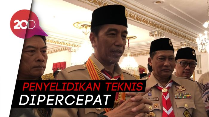 Tanggapi Hasil TPF Kasus Novel, Jokowi Kejar Kapolri