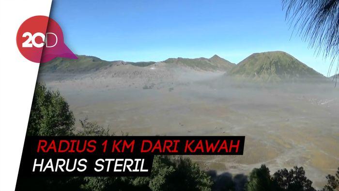 Kondisi Gunung Bromo setelah Batuk-batuk