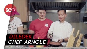 Ketika Kaesang dan Gibran Disuruh Masak oleh Chef Arnold