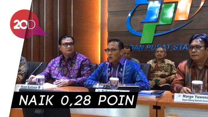 BPS: Indeks Demokrasi Indonesia Naik Dibanding Tahun 2017